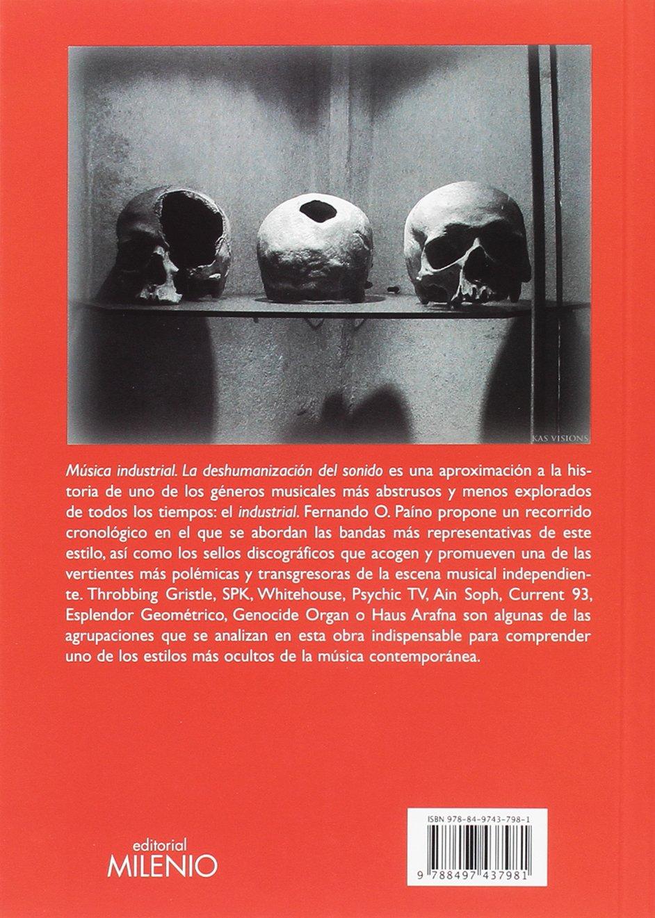Música Industrial, Fernando O. Paino LIBRO