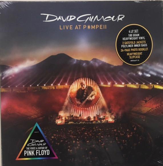 David Gilmour - Live At Pompeii 4LPs