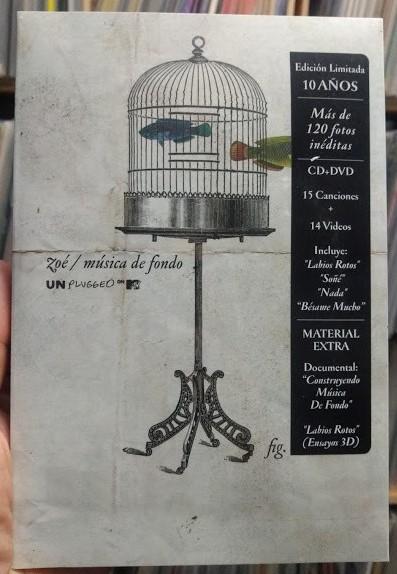 Zoé – Música De Fondo (Unplugged On MTV) CD+DVD
