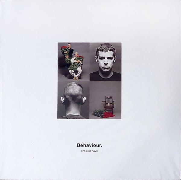 Pet Shop Boys - Behaviour LP+Libro