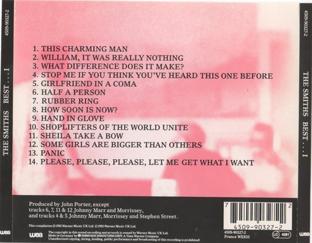 The Smiths - Best ...I CD