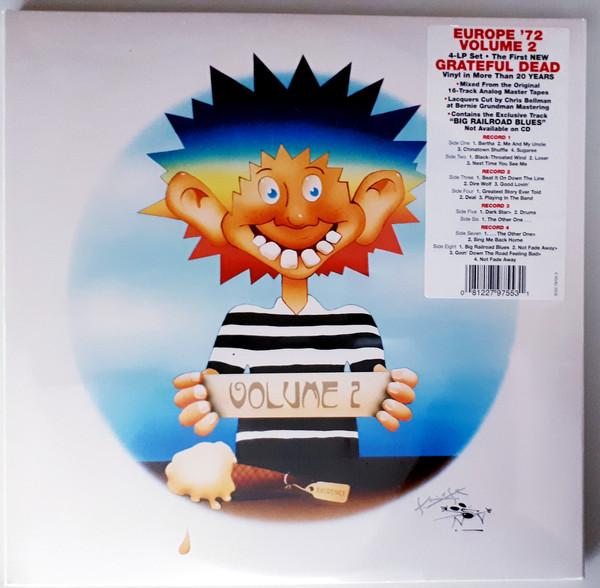 Grateful Dead - Europe '72 Vol. 2 4LPs