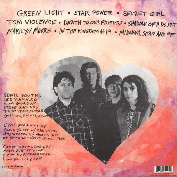 Sonic Youth - EVOL LP