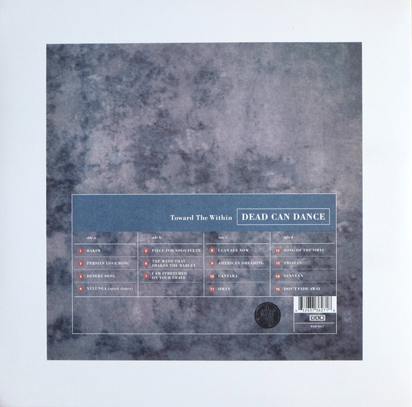 Dead Can Dance - Toward The Within 2LPs