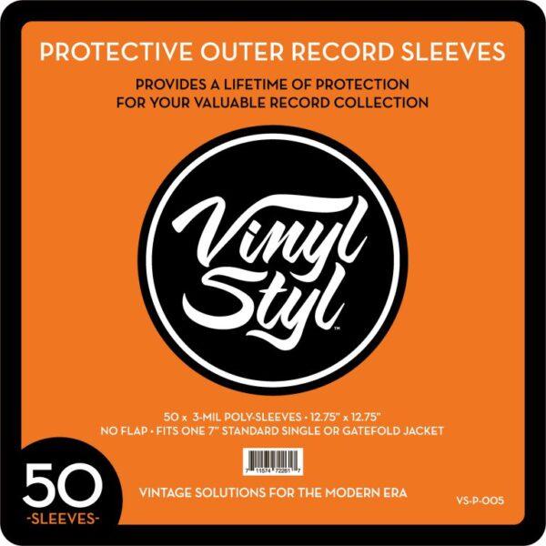 Fundas exteriores protectoras para discos de vinilo Vinyl Styl