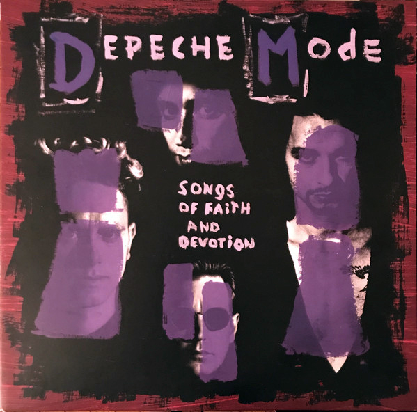 Depeche Mode - Songs Of Faith And Devotion LP