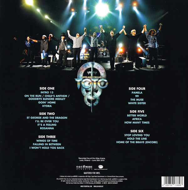 Toto - Live In Poland (35th Anniversary) 3LPs