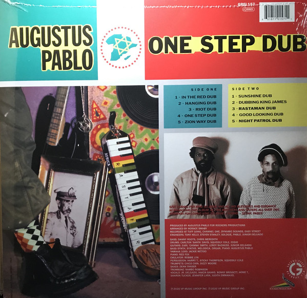 Augustus Pablo - One Step Dub LP