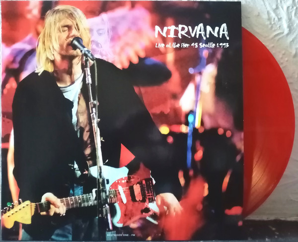 Nirvana - Live At The Pier 48 Seattle 1993 LP Red