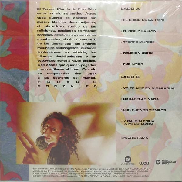 Fito Páez - Tercer Mundo LP+Libro