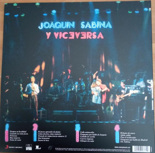 Joaquín Sabina Y Viceversa - En Directo 2LPs Red&Blue