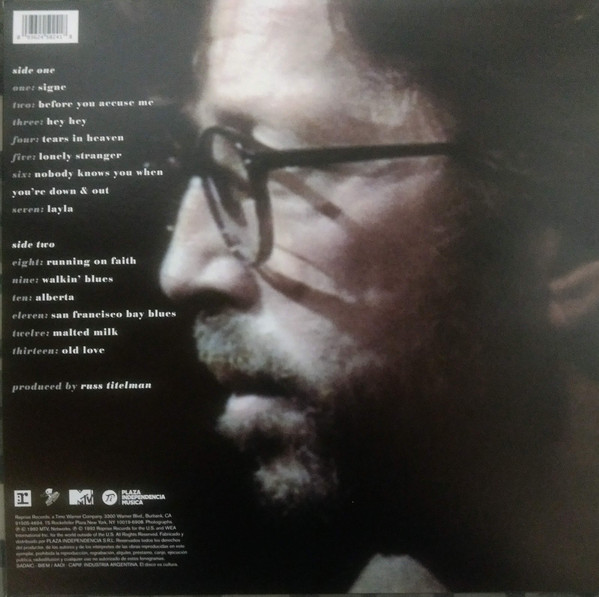 Eric Clapton - Unplugged LP+Libro