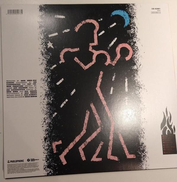 David Bowie - Let's Dance LP+Libro
