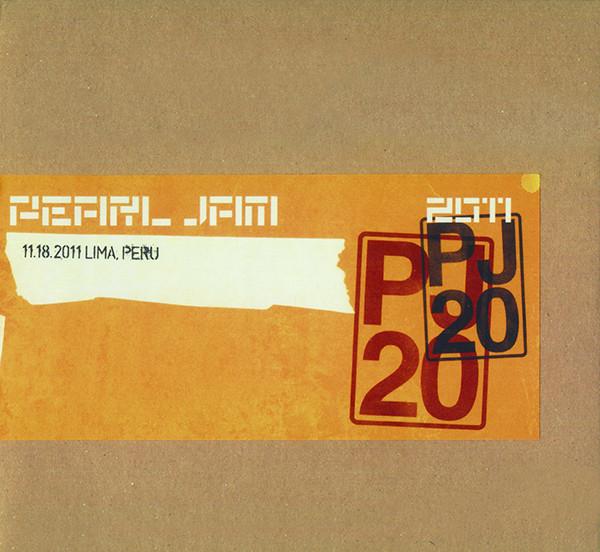 Pearl Jam - 11.18.2011 Lima, Peru 2CDs