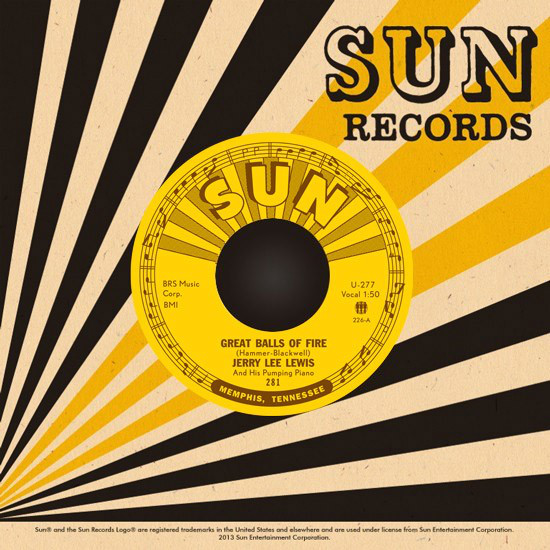 Jerry Lee Lewis And His Pumping Piano - Great Balls Of Fire SINGLE