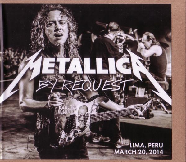 Metallica - By Request: Lima, Peru - March 20, 2014 2CDs