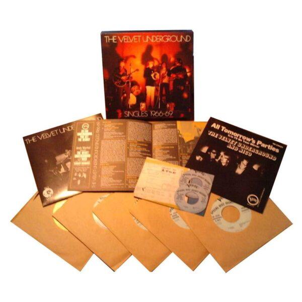"""The Velvet Underground - Singles 1966-69 Singles 7"""""""