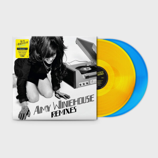Amy Winehouse - Remixes 2LPs Yellow&Blue
