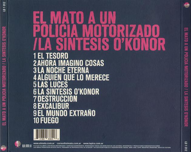 El Mató a un Policía Motorizado - La Síntesis O'Konor CD