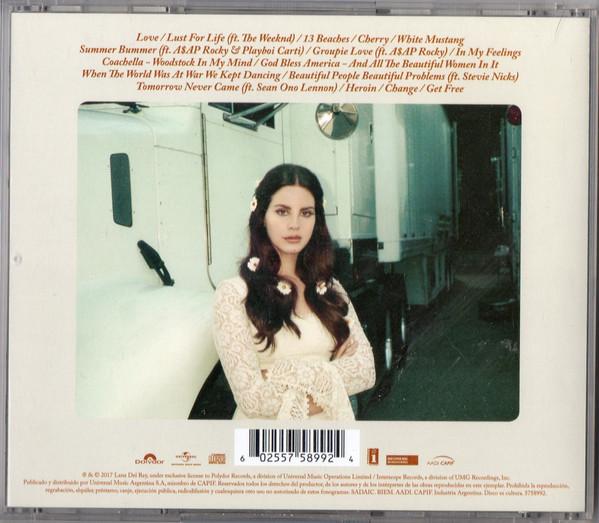 Lana Del Rey - Lust For Life CD