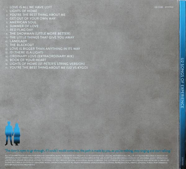 U2 - Songs Of Experience CD