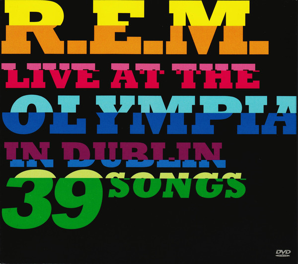 R.E.M. - Live At The Olympia In Dublin 39 Songs 2CDs+1DVD