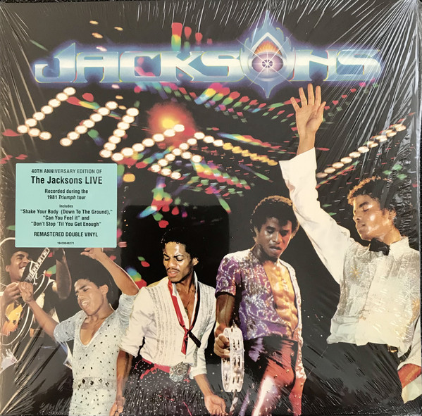 The Jacksons - Live 2LPs