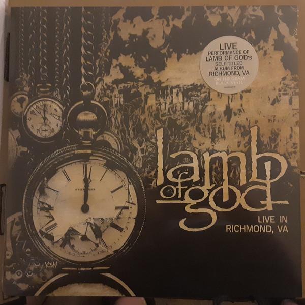 Lamb Of God - Live In Richmond, VA LP