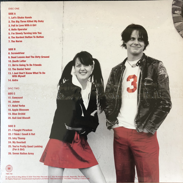 The White Stripes - My Sister Thanks You And I Thank You The White Stripes Greatest Hits 2LPs