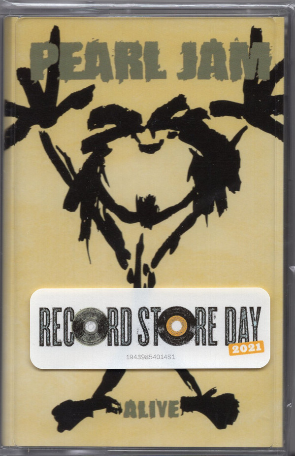 Pearl Jam - Alive CASSETTE