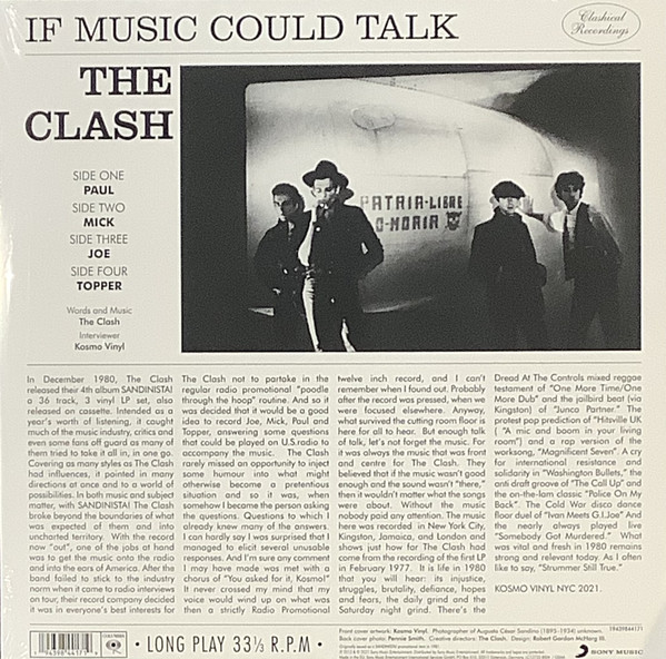 The Clash - If Music Could Talk 2LPs