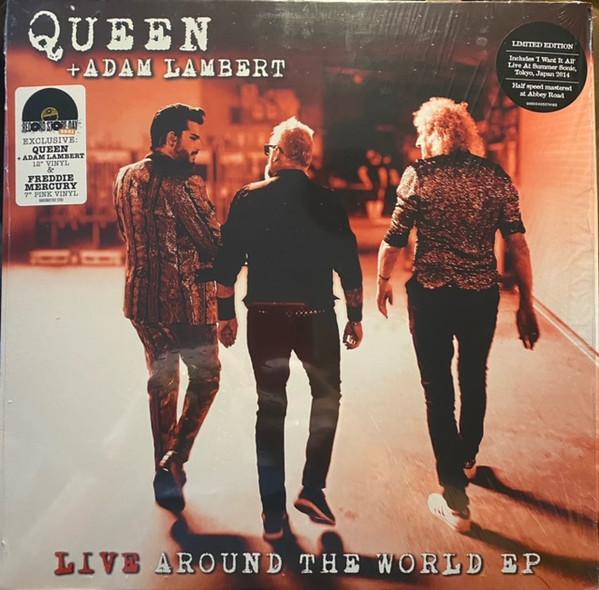 Queen + Adam Lambert - Live Around The World EP LP