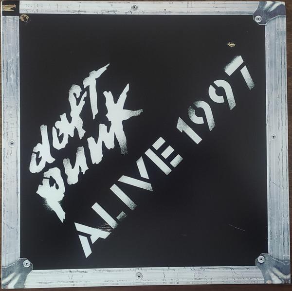 1LP+LIBRO Daft Punk - Alive 1997