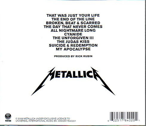 Metallica – Death Magnetic CD