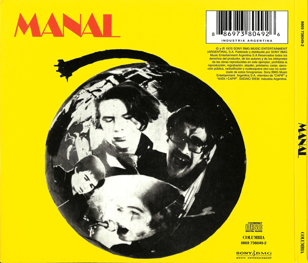 Manal - Manal CD