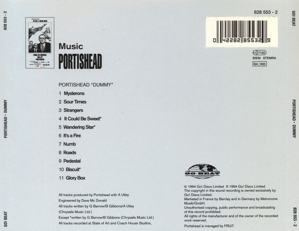 Portishead - Dummy CD