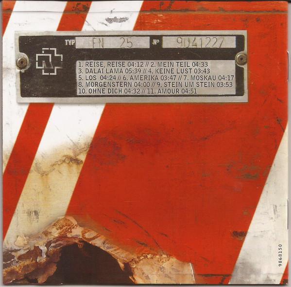 Rammstein - Reise, Reise CD