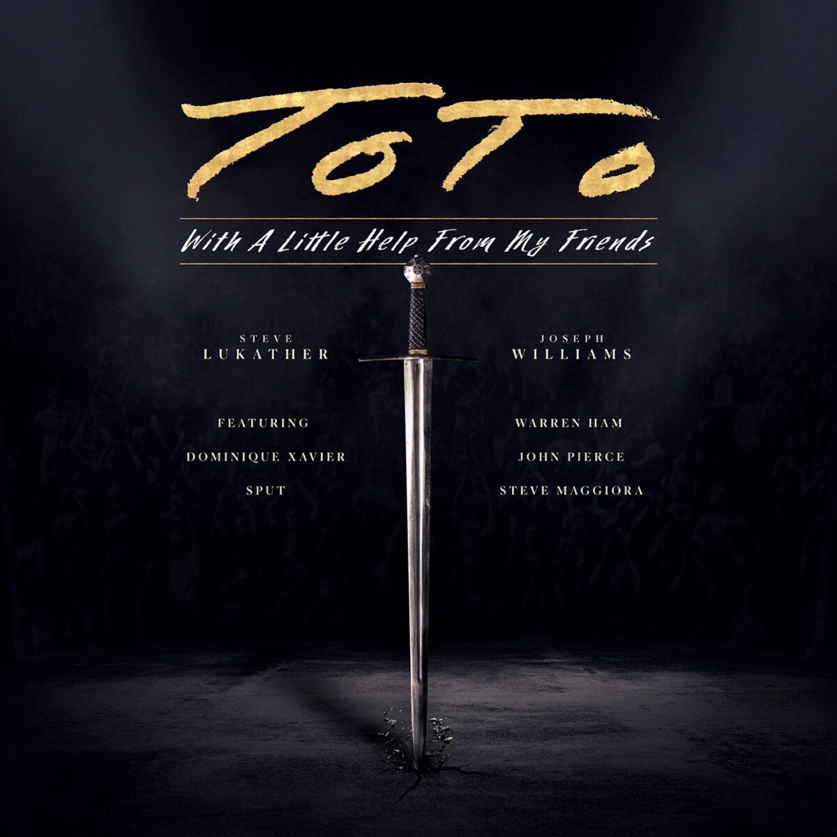Toto - With A Little Help From My Friends 2LPs
