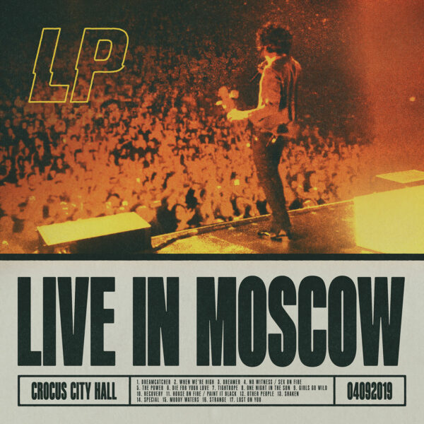 L.P. - Live In Moscow 2LPs
