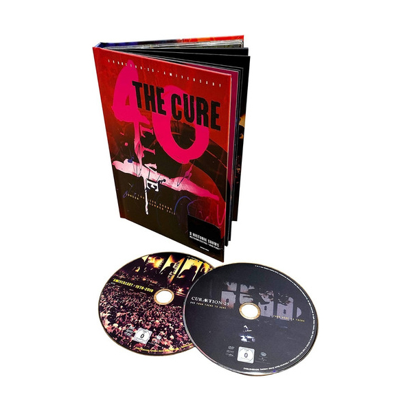 The Cure - 40 Live (Curætion-25 + Anniversary) 2Blurays