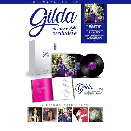 Gilda, Un Amor Verdadero 2LPs+5CDs BOXSET