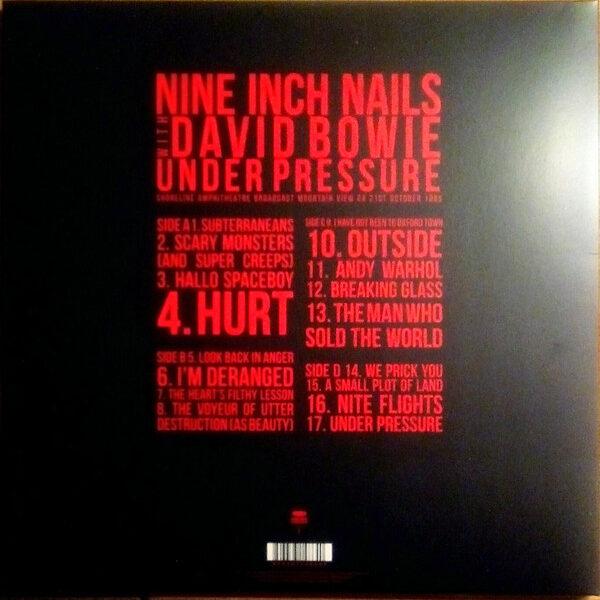 Nine Inch Nails With David Bowie - Under Pressure 2LPs