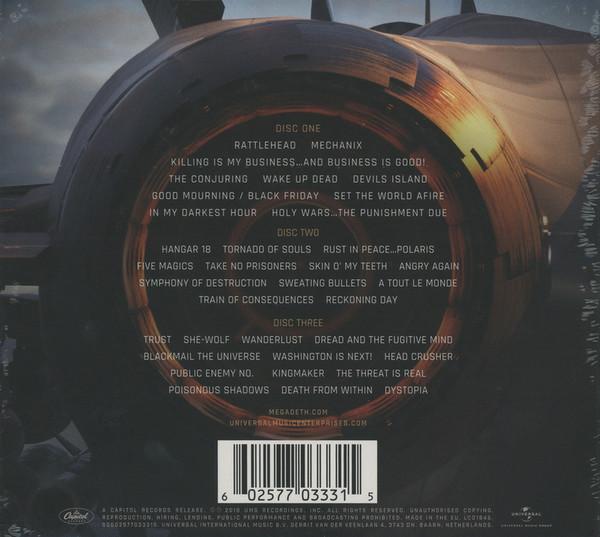 Megadeth - Warheads On Foreheads 3CDs