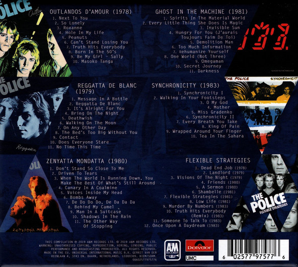 The Police - Every Move You Make (The Studio Recordings) 6CDs Boxset