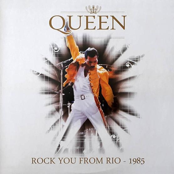 Queen - Rock You From Rio 1985 LP Bootleg