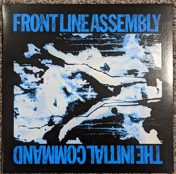 Front Line Assembly - The Initial Command LP Azul