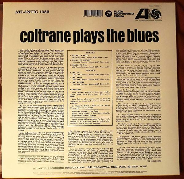 John Coltrane - Coltrane Plays The Blues 1LP+FOLLETO