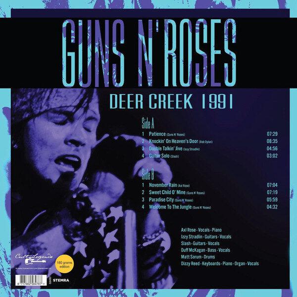 Guns N' Roses - Deer Creek 1991 LP