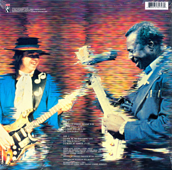 Albert King With Stevie Ray Vaughan - In Session LP