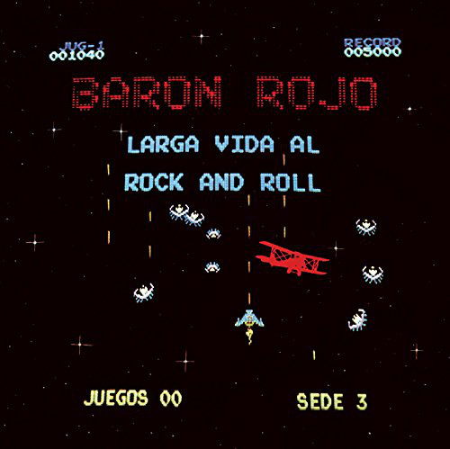 Baron Rojo - Larga Vida Al Rock And Roll LP